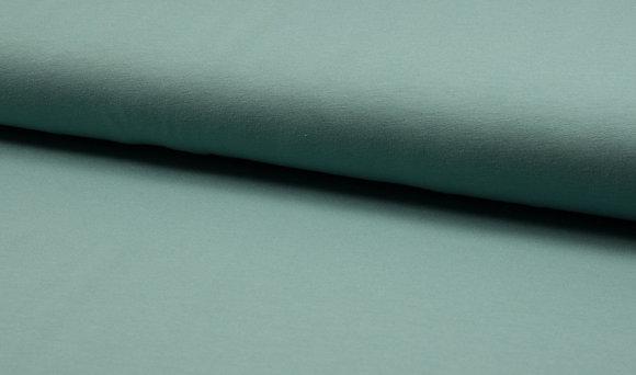 Uni French Terry Frieda - Farbe: Dark Dusty Mint