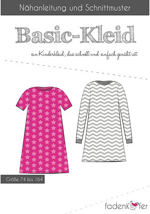 Papierschnittmuster Fadenkäfer - Basic Kleid - Kids
