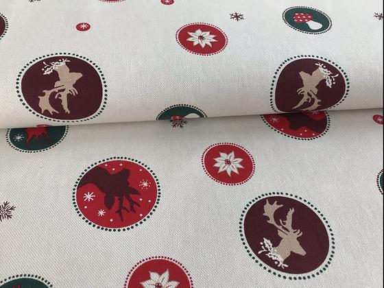 """Baumwolle """"Weihnachtszeit"""""""