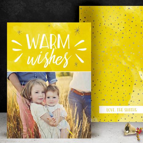 Warm Wishes Yellow
