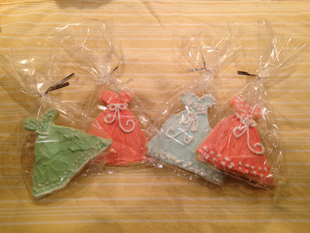 Fashion Show Cookie Favors