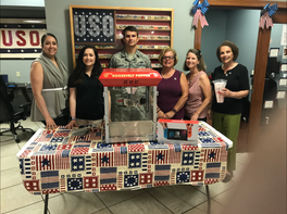 USO Delaware Game Room Donations