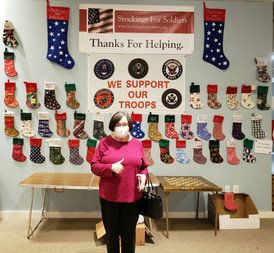 Stockings for Soldiers Donations