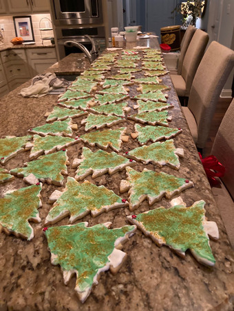 Christmas Cookies for WIYV Kids