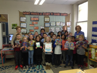 Books Donated to Shields Elementary School