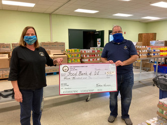 Food Bank of Delaware Donation