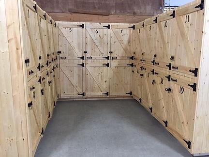 Barn Lockers