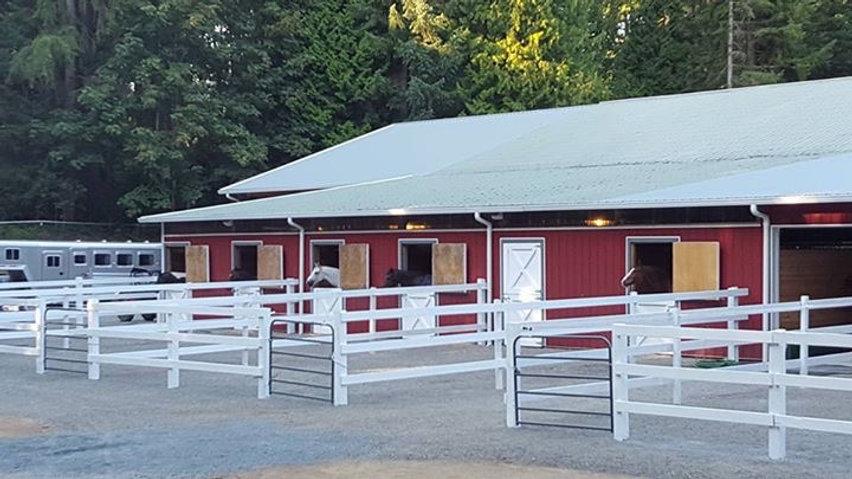 Barn Landscape Shot - Back