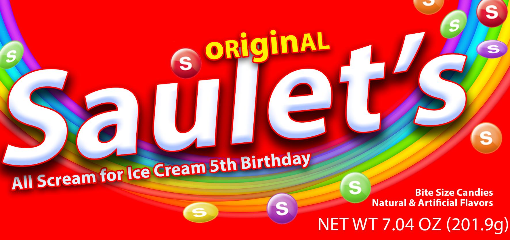 Rainbow Candy Mockup