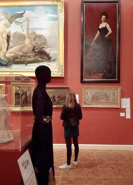 Installation musée Galeries Lafayette parcours Et si on parlait d'Art Musée des Beaux Arts de Rennes
