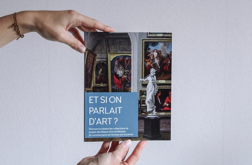 Première de couverture du catalogue Et si on Palrait d'Art, Musée des Beaux-Arts de Rennes