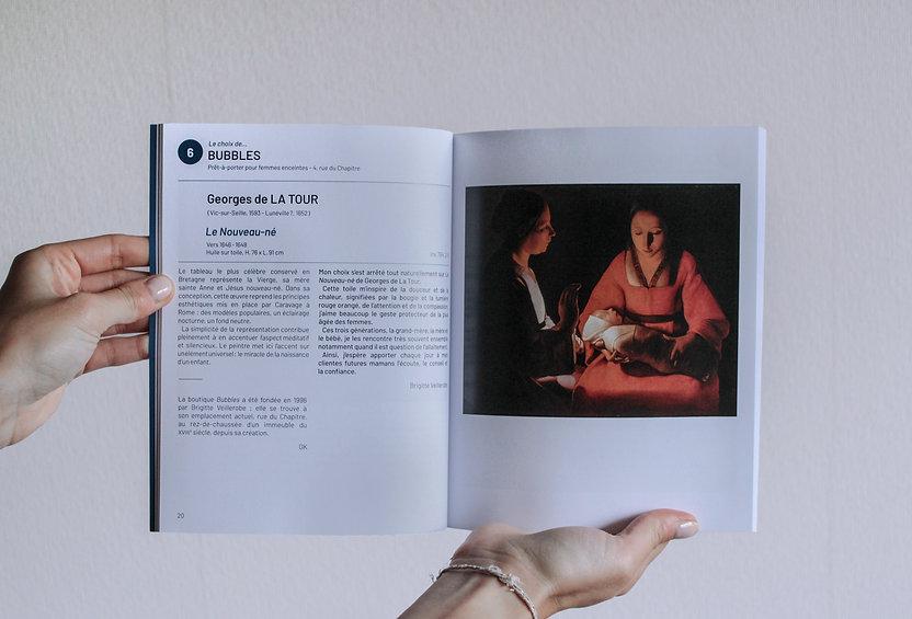Intérieur du catalogue Et si on Palrait d'Art, Musée des Beaux-Arts de Rennes