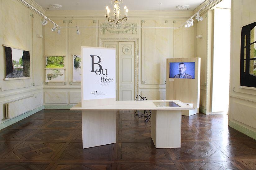Vue de l'exposition La Ville en Partage, La Cohue Musée des Beaux Arts de Vannes