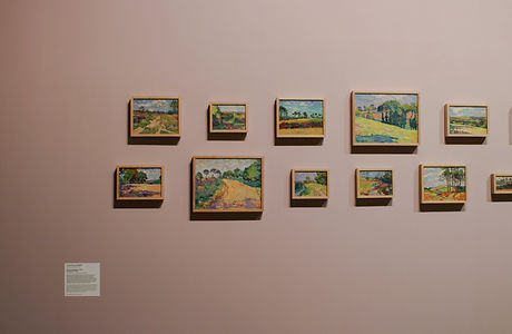 Détail de l'exposition Terres et Landes La Cohue Musée des Beaux Arts de Vannes
