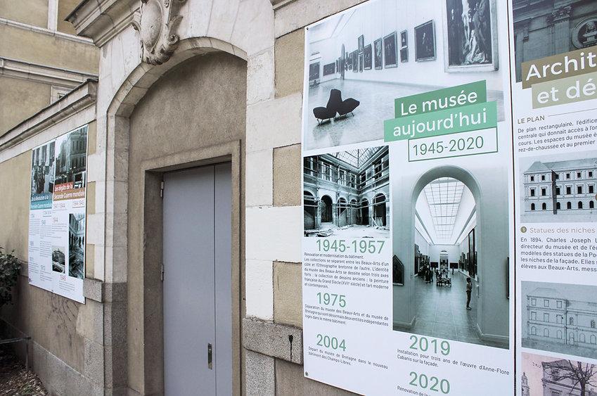 Détail panneaux musée des Beaux-Arts de Rennes
