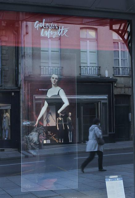 Vitrine Galeries Lafayette parcours ESOP