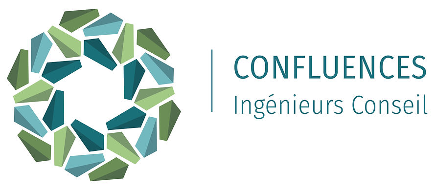 Logo Confluences, Ingénieurs conseil