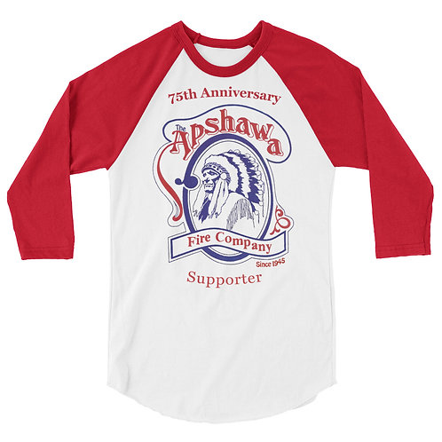 Apshawa 3/4 sleeve raglan shirt