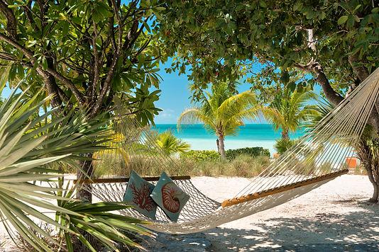 Hammock, relaxing, beachfront, Sapodilla Bay, Providenciales, chill, private, Caribbean, cocktails, nap