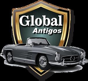 LOGO GLOBAL ANTIGOS ALUGUEL DE CARROS CLASSICOS