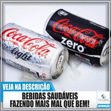Bebidas saudáveis que fazem mais mal que bem!