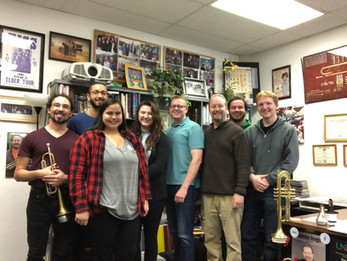 UND Trumpet Studio 2019