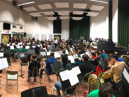 International Wind Ensemble residency at UND
