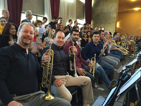 Yerevan, Armenia genocide remembrance with World Orchestra