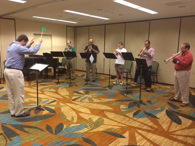 Faculty Trumpet Ensemble