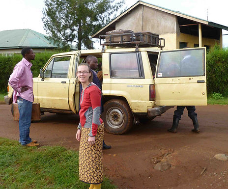 Traveling in Kenya