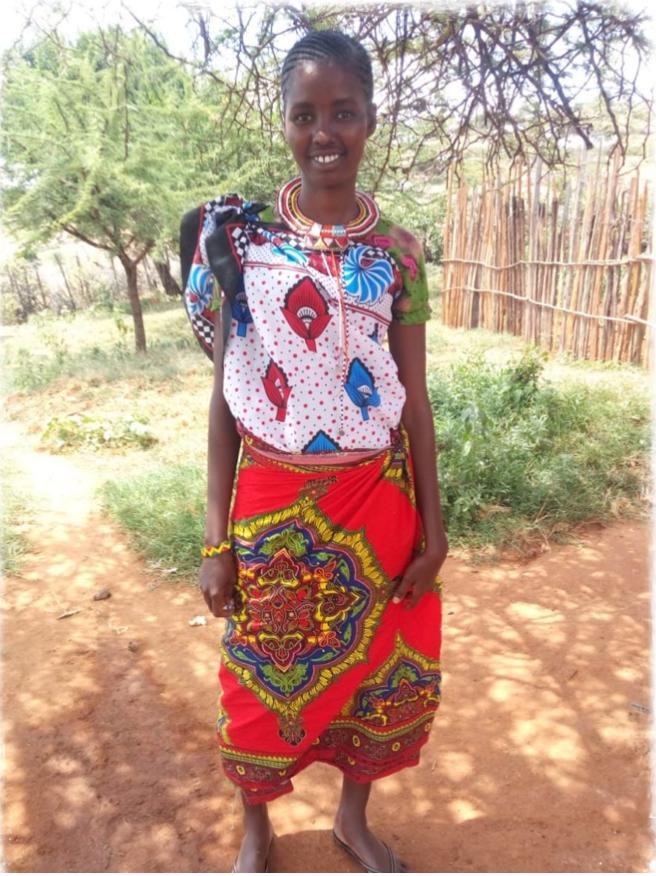 Samburu girl from Kenya