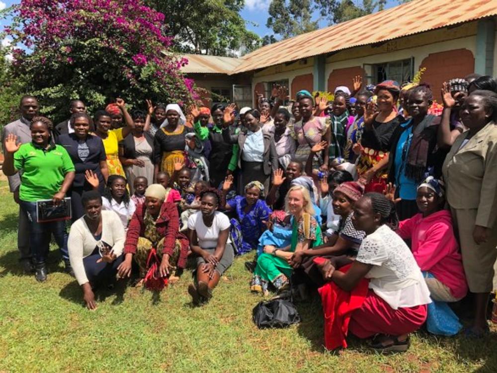 group of women in kenya