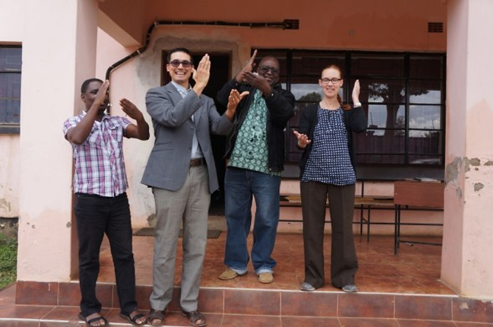 Building relationships. COMSIP Sharp! Tanya and Boyd met with the leaders of the national COMSIP organization in Malawi's capital city. We met to share our support of the Manyamula COMSIP Cooperative.
