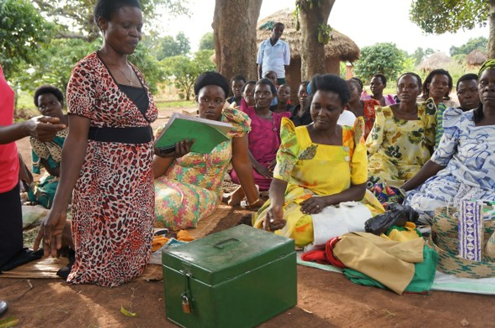 Rehema us tells about how their savings group keeps their funds secure, and their records accurate.  In rural Uganda, a box is enough to keep the funds safe.