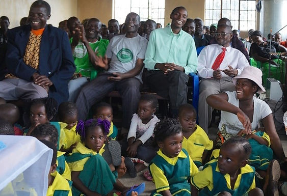 Pre-school students celebrate Easter in Malawi