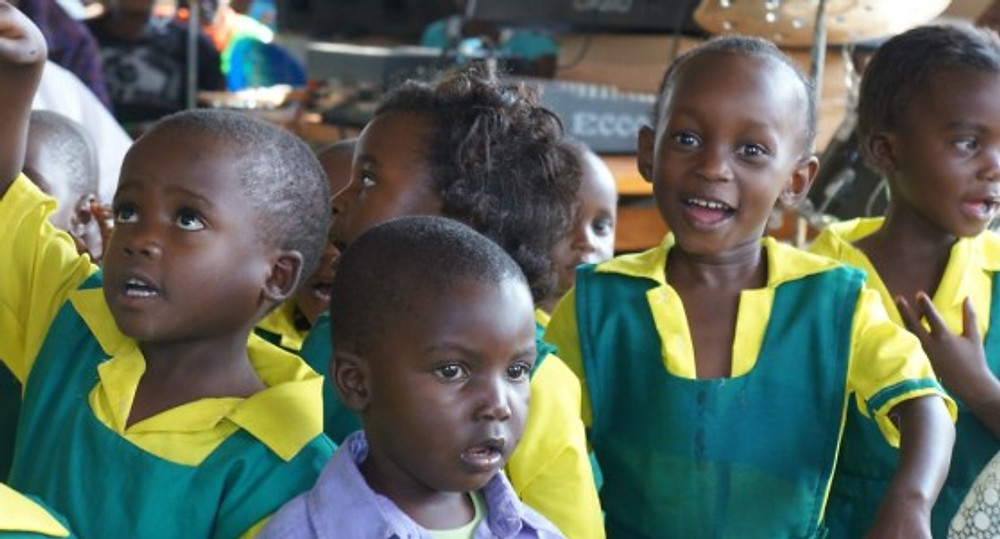 Children from the local SBF-supported school told us what they wanted to be when they grew up: a nurse; teacher; poilot.