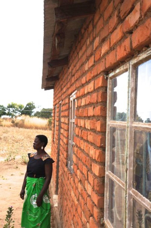 brick home Malawi