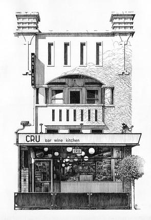 CRU Wine Bar, Kew.