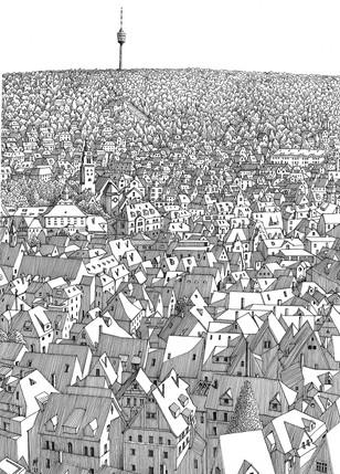 Stuttgart suburbia.