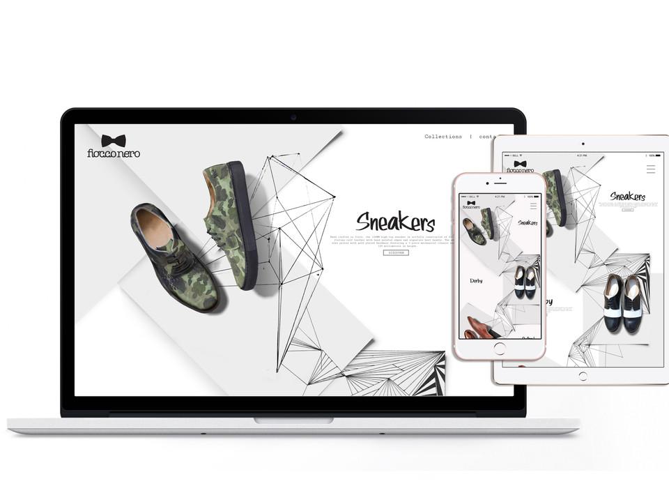 FICCO NERO / Men's Shoes Designer