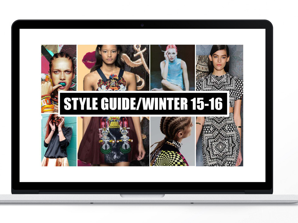 STYLE GUIDE FW 15-16 | Funky Fish