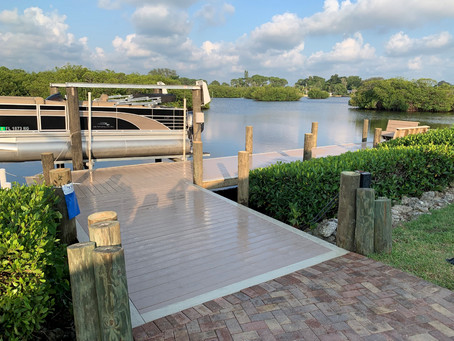 Stunning Dock and Deck