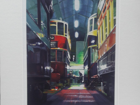 Limited Edition Giclee Prints - Tramway Workshop
