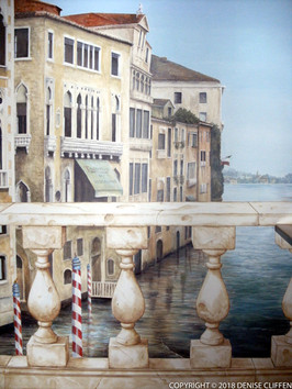 Tarantino Restaurant Venice Mural