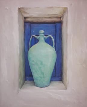 Amphora - Acrylics on Ply © Denise Cliffen