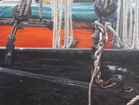 Thames Barge Leeboard