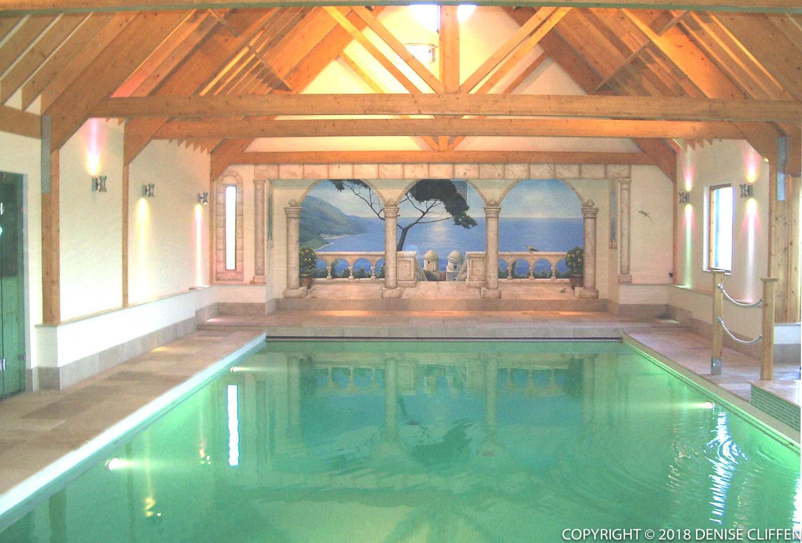 Swimming Pool Mural