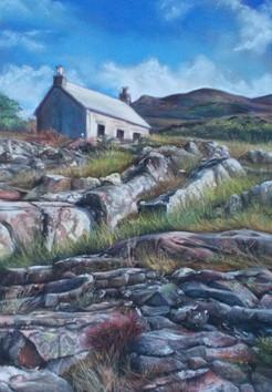 Scottish Cottage - Soft Pastels ©Denise Cliffen