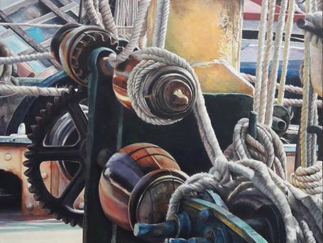 Thames Barge Deck
