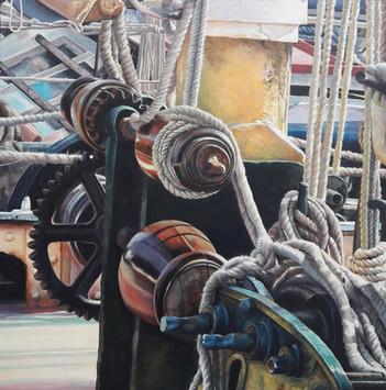 Thames Barge Deck Reminder ©Denise Cliffen